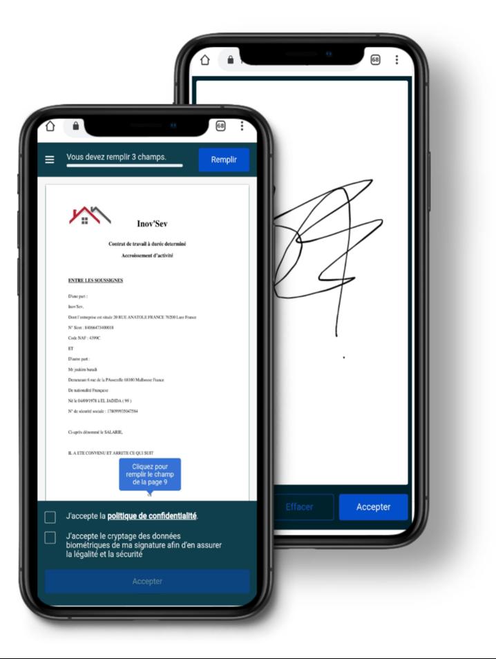 Tel-signature